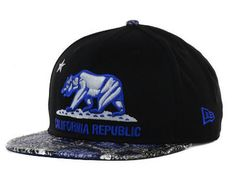 Snake 9Fifty Strapback Hat by CALIFORNIA REPUBLIC x NEW ERA