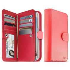 Thanks to this super stylish iLuv Leather Wallet Case, you won't be stumped when the new Samsung Galaxy S6 and S6 Edge phones hit shelves on April 10.
