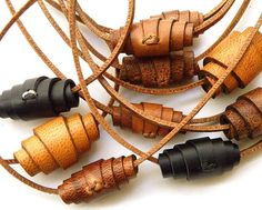 Some hand-rolled, camel leather pendants for the 2016 7th Annual Garden Party and Spring Sale at Community Forklift and Tanglewood Works on April 2nd. That's this Saturday! Mark your calendars. It will be a ton of fun and you can pick up some handmade, camel leather goods, too! @tanglewoodworks @communityforklift