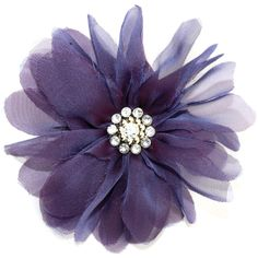 Laliberi Pin and Clip Flower, Billow Bloom Purple *** You can get more details by clicking on the image.