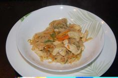 Ricette thailandesi Spaghetti alla piastra