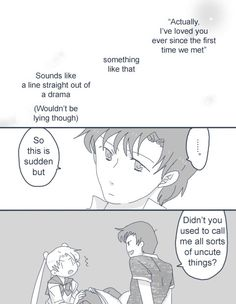 Sailor Scribbles: Found Out 01
