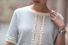 Sweat gris et petit sac   Le monde de Tokyobanhbao: Blog Mode gourmand