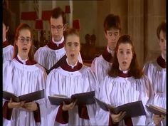 Outstanding choral harmonies! The Choir of Clare College - O Come, O Come, Emmanuel