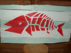 """Surfers love my primitive island-style fish designs. """"Dear Surf Shop Owner. Please buy this one."""""""