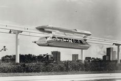 Never Built: Los Angeles | Amazing pictures of structures designed for LA but never built | Monorrail