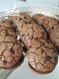 Damla Cikolatali Kahve Aromalı Kurabiye (nefiss) My Recipes, Cookie Recipes, Dessert Recipes, Desserts, Biscotti Cookies, Coffee Cookies, Cookie Time, Sweet Pastries, How To Eat Less