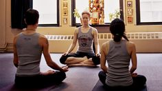 """The Beginner's Guide to Common Yoga Chants. Ever wonder what you're chanting during a yoga class? From """"Aum"""" to """"Yam"""", learn more about common yoga chants. Ashtanga Yoga, Vinyasa Yoga, Yoga Inspiration, Yoga Chants, Yoga Terms, Yoga Sequence For Beginners, Easy Meditation, Mantra Meditation, Yoga Breathing"""
