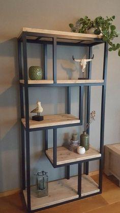 Welded Furniture, Loft Furniture, Furniture Design, Furniture Ideas, Furniture Outlet, Minimalist Bedroom, Minimalist Home, Diy Interior, Interior Design