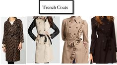 cute trench coats