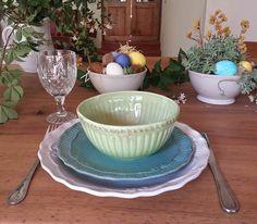 """Pascua de Resurrección y loza """"Nimes""""...top!  www.labellezadelascosas.com"""