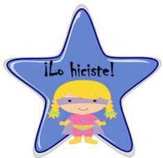 Fichas de Primaria: Estímulos con estrellas Ideas Para, Classroom, School, Pink, Color, Speech Pathology, Encouragement, Spanish, Activities