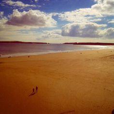 Training for 870 mile run of Wales coastal path. Hard to feel...