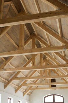 Picnic Pavilian Carport Heavy Timber Scissor Truss With