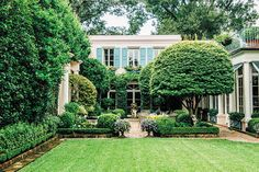 Photo Credit: Rush Jagoe. A New Orleans garden is one of the finest places for a party in the South.