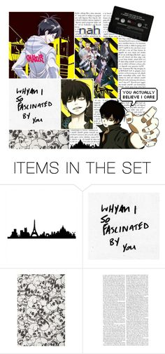 """""""You've piqued my interest (Request)"""" by hanabusa ❤ liked on Polyvore featuring art"""