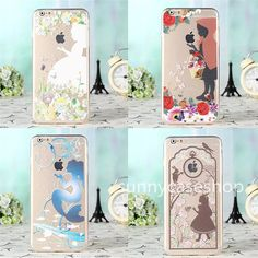 """Cute Fresh Mermaid lace Girl Silicone TPU Case cover for Apple iphone6 plus 4.7"""" #Romrichcaseshop"""