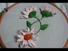 Hand Embroidery Designs | Picot stitch | Stitch and Flower-140 - YouTube