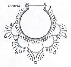 alice brans posted Crochet diagram to make earrings, Spanish site to their -crochet ideas and tips- postboard via the Juxtapost bookmarklet. diagram for crochet earings! more diagrams on site :) … Divinos aros tejidos al crochet. Risultati immagini per Crochet Diy, Thread Crochet, Love Crochet, Crochet Flowers, Beautiful Crochet, Crochet Earrings Pattern, Crochet Jewelry Patterns, Crochet Accessories, Diy Crochet Jewelry