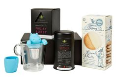 Office Tea Treats Enjoy an afternoon treat in the office with this luxury tea treats gift set. This will make a fantastic gift for a tea lover colleague or friend. Tea Gift Sets, Tea Gifts, Treats, Luxury, Bottle, How To Make, Sweet Like Candy, Tea Favors, Goodies