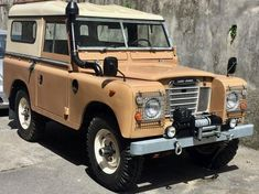 Land Rover 88, Land Rover Series 3, Land Rover Defender, Best 4x4, Off Road, Land Cruiser, Concept Cars, Landing, Dream Cars