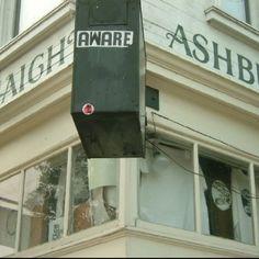 San Francisco, CA.  Haight & Ashbury.