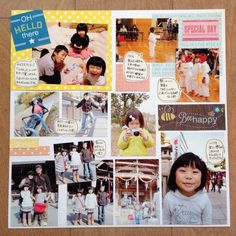 【NEW】1日でアルバム10ページを作りました!! | ママのアルバム研究所 Special Day, Photo Wall, Polaroid Film, Diy Crafts, Scrapbook, Frame, Poster, Fotografie, Frames