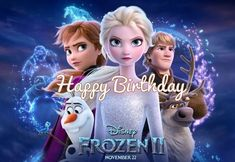 Stupendous 16 Best Frozen Ii Birthday Ecards Images Frozen Happy Birthday Birthday Cards Printable Benkemecafe Filternl