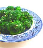 One Perfect Bite: Stir-Fried Broccoli with Ginger and Garlic