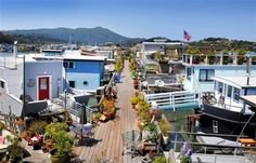 Houseboat Community 49 Liberty Dock, Sausalito, CA 94965
