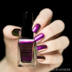 A celebration is in order! This polish of brilliant violet, red, copper and gold is the perfect color to start off the New Year. Fully opaque in 2-3 coats! Collection: New Year 2015 Collection