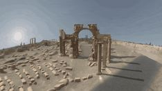 Perpetuity | Palmyra, a VR app that aims to virtually restore the historic Syrian site of Palmyra, an ancient city that was destroyed by insurgents in 2015. Much of what remains now is simply rubble, having been looted and ruined, leaving over 3,000 years of history in devastation.
