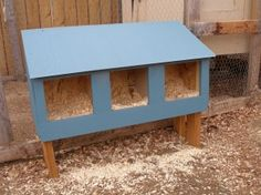 #diy nesting boxes for #chickens