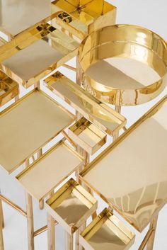 Golden table Design