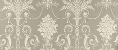 Josette Pewter Grey Patterned Wallpaper at Laura Ashley Floral Pattern Wallpaper, Damask Wallpaper, Bathroom Wallpaper, Home Wallpaper, Wallpaper Ideas, Antique Wallpaper, Washable Wallpaper, Kitchen Lighting Design, French Pattern