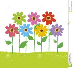 Flower Garden Royalty Free Stock Image Image: 19275706 Flower illustration Flower garden Flower art