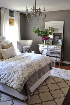18 Stylish Bedroom Decorating Ideas to Inspire You These bedroom decorating ideas are all the inspiration you need! People tend to forget about this room as basically nobody sees it. But this is a huge mistake. This is the place where you draw new energy and recharge. So, why not dress it up nicely? glaminati.com/...