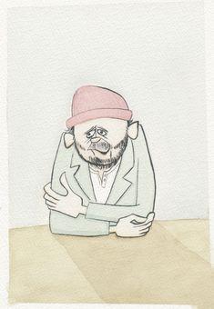 gallery Yusuke Hanai Retro Kunst, Retro Art, Kunst Poster, Surf Art, Surf Style, Illustrators, Surfing, Gallery, Drawings