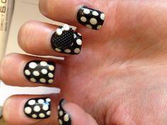 Hello Kitty Nails Hello Kitty Nails, Cat Nails, Pretty Nails, Ash, Nail Art, Colors, Black, Gray, Cute Nails