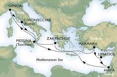 MSC Italian cruise lines