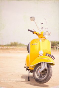 Vespa Love; For some reason this is girl power to me...