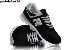 Czarne buty sportowe / Black athletic shoes / 59 PLN #shoes #sport #spring #summer #athletic #black