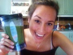 Green Morning Smoothie from The Raw Girl