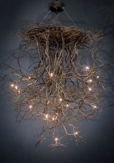 A Comprehensive Overview on Home Decoration - Modern Branch Chandelier, Chandelier Lighting, Chandeliers, Suspended Lighting, Cool Ideas, Tree Art, Home Lighting, Silver Color, Wood Art