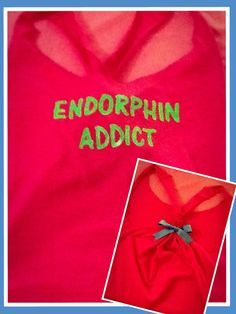 Endorphin Addict Workout Racerback