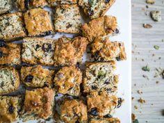 Vegan Buttermilk Rusks - Yes! British vegan food photographer Michael Kitson, shows off how good vegan food can be — like this recipe for Vegan Buttermilk Rusks. Vegetarian Times, Vegetarian Recipes, Vegan Snacks, Yummy Snacks, Vegan Foods, Vegan Desserts, Yummy Food, Delicious Vegan Recipes, Healthy Recipes