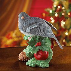 Dark-Eyed Junco Bird Figurine by Lenox