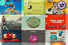 40 Increíbles sitios web en html 5