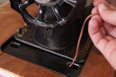 How to Restore Antique Singer Treadle Sewing Machines   eHow