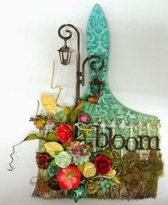 scrappin it: Mixed Media Altered Paintbrush
